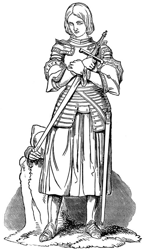 Joan of Arc   ClipArt ETC