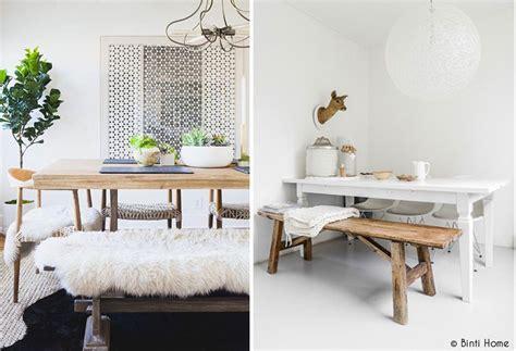 table cuisine avec banc un banc dans la maison mademoiselle claudine le