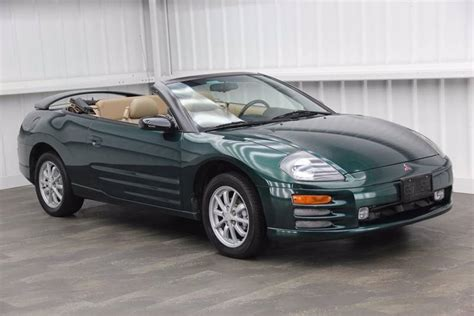 Mitsubishi Eclipse Spyder 2001 by 2001 Mitsubishi Eclipse Spyder Gs For Sale 43 Used Cars