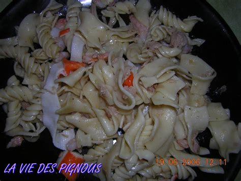 salade de p 226 tes au fruits de mer la vie des pignous