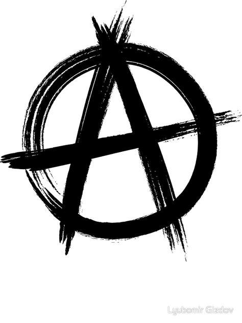 quot circle a anarchy symbol light t shirt version quot stickers