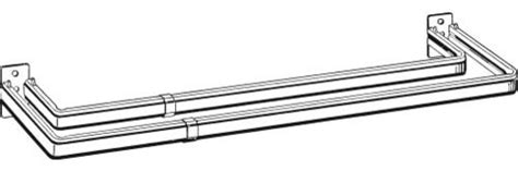 Kirsch Drapery Rods Direct by Kirsch Lockseam Curtain Rod Curtain Rods By