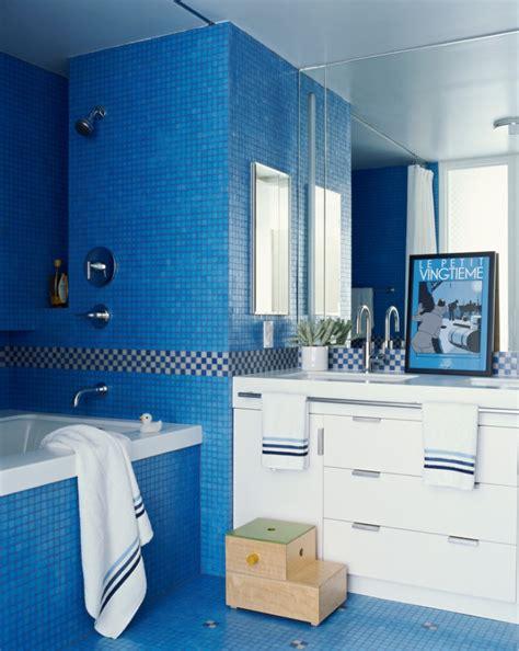 21+ Blue Tile Bathroom Designs, Decorating Ideas Design