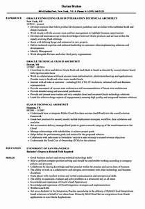 technical architect cloud architect resume samples With cloud security architect resume