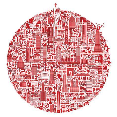 typographic new york map print by nickprints notonthehighstreet com