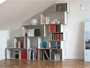 Regal Für Schräge : die besten 17 ideen zu regal dachschr ge auf pinterest regal schr ge dachschr ge und schrank ~ Sanjose-hotels-ca.com Haus und Dekorationen