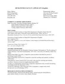 phd cv faculty