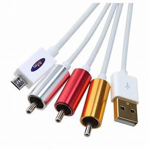 Klettbänder Für Kabel : micro usb auf cinch hdtv adapter av kabel fuer samsung et ebay ~ Markanthonyermac.com Haus und Dekorationen