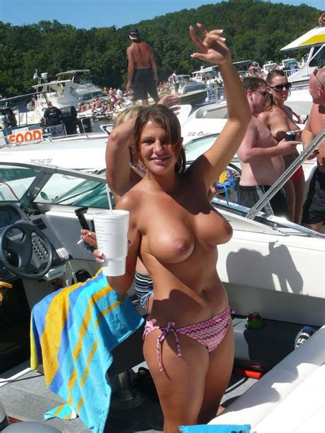 Topless On A Boat Amateur Tags Topless Luscious