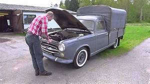 Peugeot Camionnette : peugeot 403 camionnette youtube ~ Gottalentnigeria.com Avis de Voitures