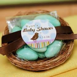 Bird Nest Baby Shower Favor