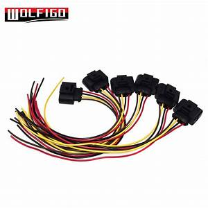 Wolfigo New Ignition Coil Connector Repair Kit Harness