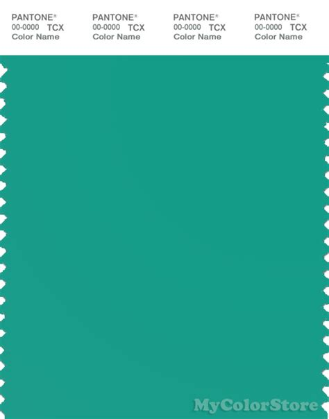 sea green color pantone smart 16 5421 tcx color swatch card pantone sea