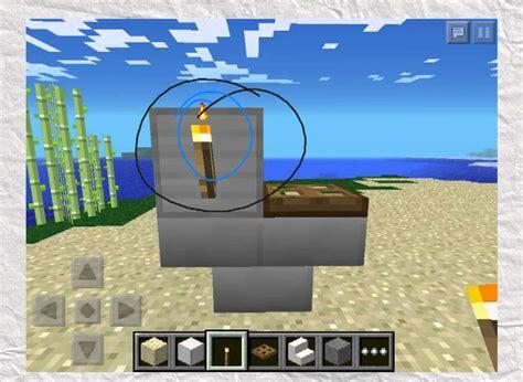 minecraft pe   build bathroom furniture youtube