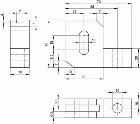 technische zeichnung ansichten technische zeichnung ansichten grundlagen ansichten technische zeichnung charmant technische