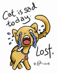 crying cat by Savantis on DeviantArt