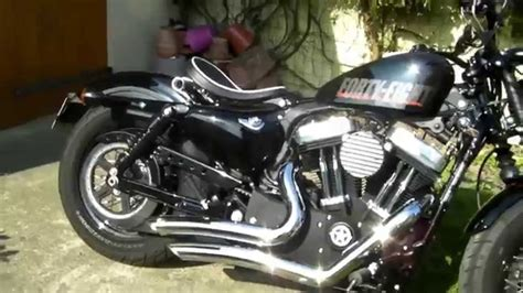 Harley Davidson Forty Eight Stage 1 Vance & Hines Big