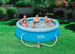 Garten Pool Bestway : bestway set quick up pool fast set pool mit filterpumpe xh 305 x 76 cm online kaufen otto ~ Frokenaadalensverden.com Haus und Dekorationen