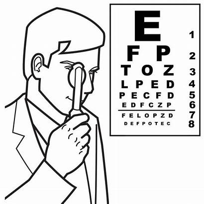 Coloring Doctor Eye Pages Sheets Colouring Eyes