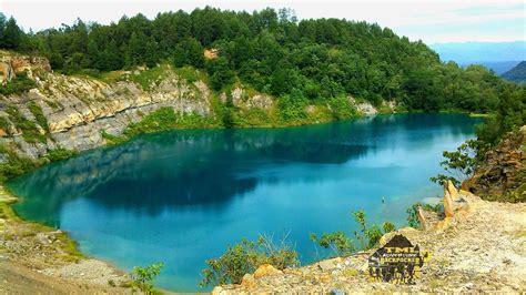 danau biru sawahlunto sibiru  mempesona tml adventure