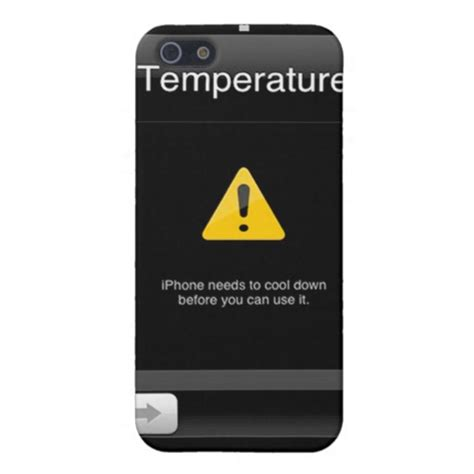 iphone warning iphone 4 temperature warning cases for iphone 5