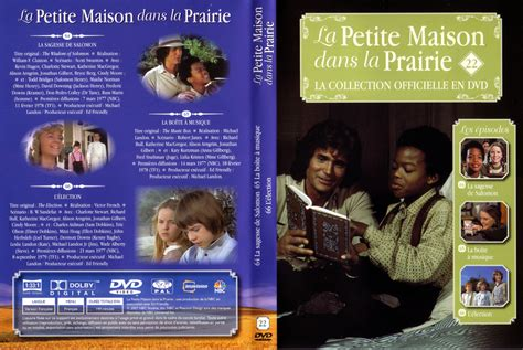 jaquette dvd de la maison dans la prairie la collection vol 22 cin 233 ma