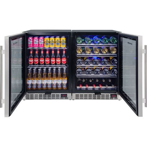 bar fridge bench and wine glass door bar fridges with