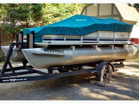Pontoon Boat Covers Edmonton by 16 Foot Pontoon Boat Lake Cowichan Cowichan Mobile