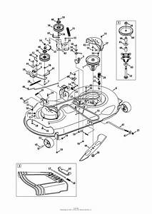 Mtd 13ax79st099  247 289150   Lt2500   2013  Parts Diagram