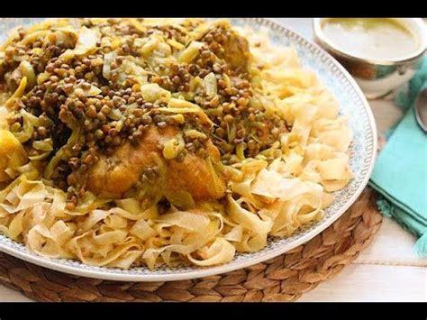fleur d oranger cuisine rfissa au poulet recette de la cuisine marocaine