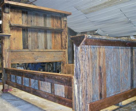 Refurbished Barn Wood Furniture by Barn Wood Bed Size I Got To Keep This One And I