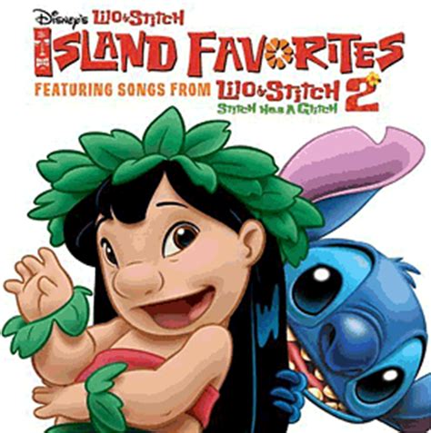 lilo stitch  island favorites soundtrack compilation