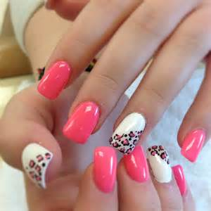 Pink nail design nails picture