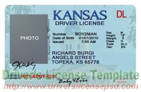 free drivers license template drivers license drivers license drivers license psd kansas drivers license psd ks