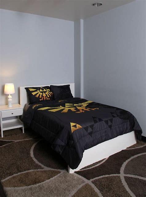 legend  zelda triforce fullqueen comforter