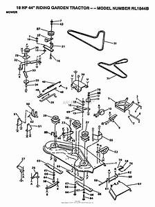 Ayp  Electrolux Rl1844b  1991  Parts Diagram For Mower