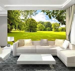 Home 3D Wallpaper Bedroom Mural Roll Modern landscape ...