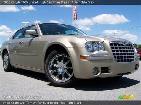 2008 Chrysler 300 Limited by Light Sandstone Metallic 2008 Chrysler 300 Limited