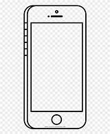 Coloring Cell Pages Clipart Phone Outline Ultra Framing Frieze Pinclipart Report sketch template