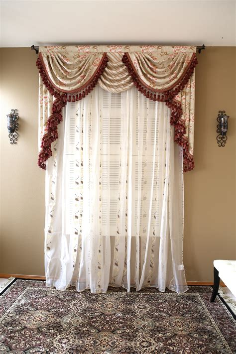 Valance Curtains by Debutante Overlapping Swag And Valance Curtains