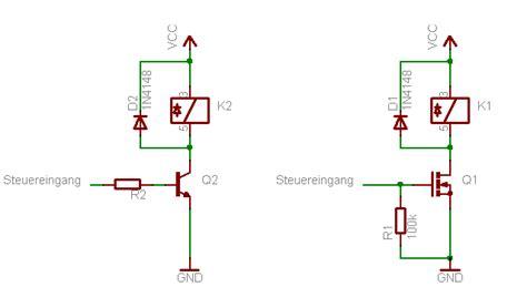 relaisschaltung funktioniert nicht mikrocontrollernet