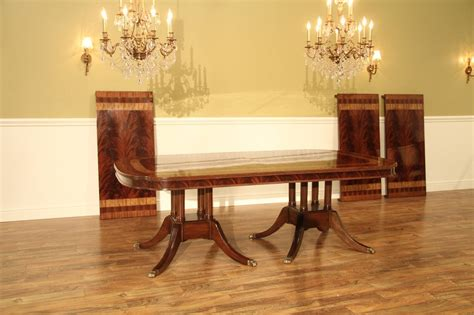 Large 13 Foot Mahogany Dining Table Seats 16 People Coma