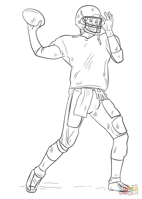 tom brady coloring pages printable coloring home
