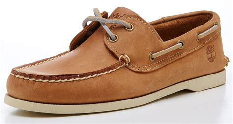 Timberland Boat Shoes Nz by Timberland Brig 2 Eye Boat Deck Brown Leather Shoes