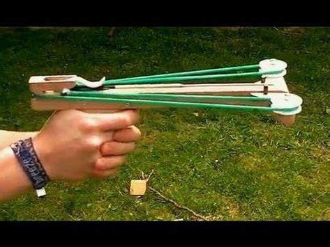 armbrust bogen bauen slingshot crossbow pistol basteleien クロスボウ 刀 und サバイバル