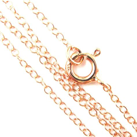 Rose Gold Necklace  Rose Gold Plated Over Sterling Silver. Promise Rings Engagement Rings. Cute Gold Chains. Bridal Jewelry Bracelet. Bypass Engagement Rings. Armstrong Bracelet. St Michael Necklace. Semi Precious Stone Pendant. Platinum Band Wedding Ring
