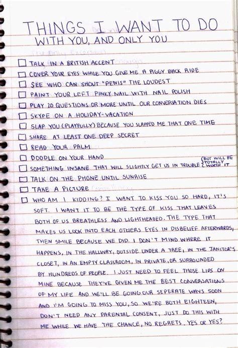 Things To Do With Your Boyfriendgirlfriend