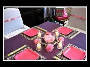 DIY cheap baby shower centerpiece decorating ideas - YouTube