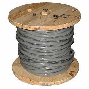 Southwire 250 Ft  4  0 0 0 0 Grey Stranded Aluminum