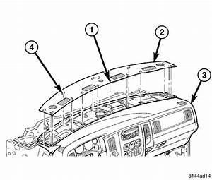 Service Manual  How To Remove Instrument 2003 Dodge Ram Van 2500